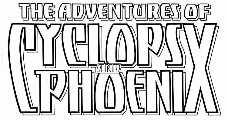Adventures of Cyclops and Phoenix logo