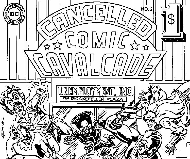 Cancelled Comics Cavalcade 2