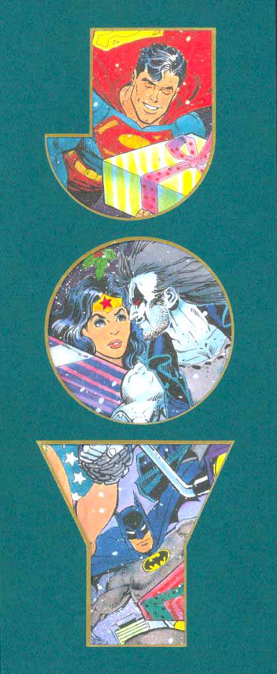 DC Christmas card 1991
