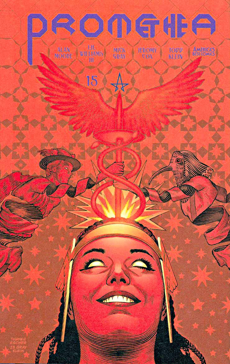 Promethea 15 cover