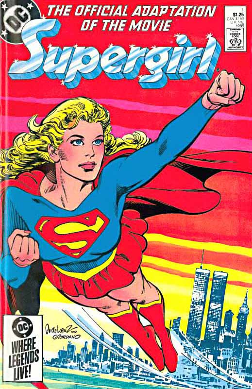 Supergirl Movie Adaptation cover