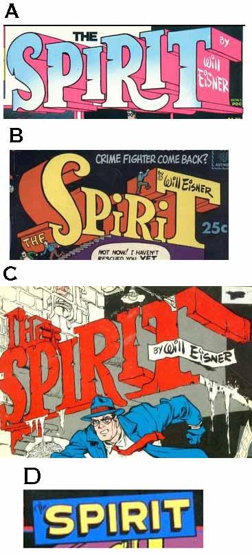 Spirit print logos A-D