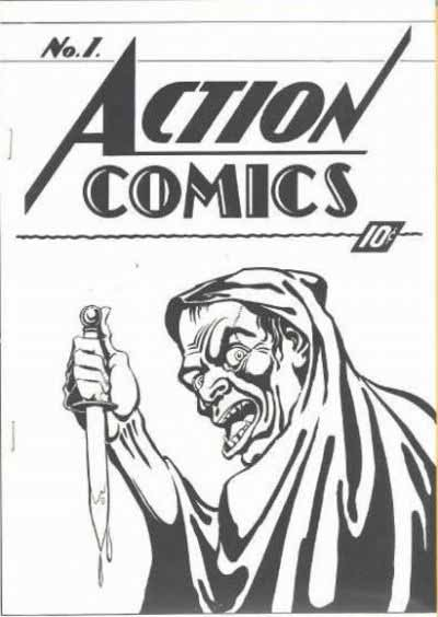 Action Comics 1 ashcan