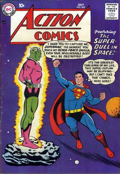 Action Comics 242 cover
