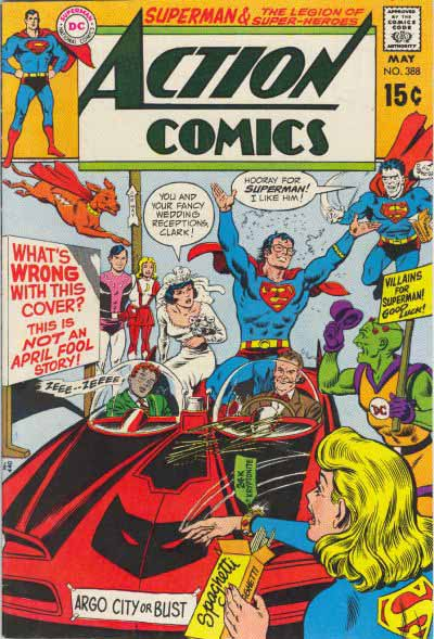 Action Comics 388 cover