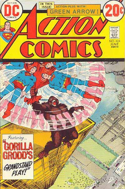 Action Comics 424 cover