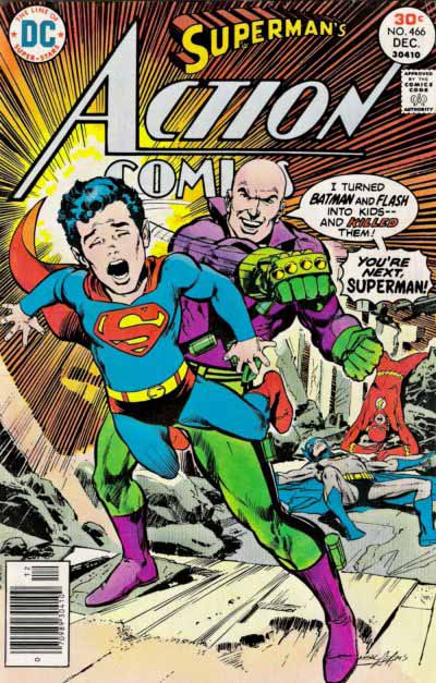 Action Comics 466 cover