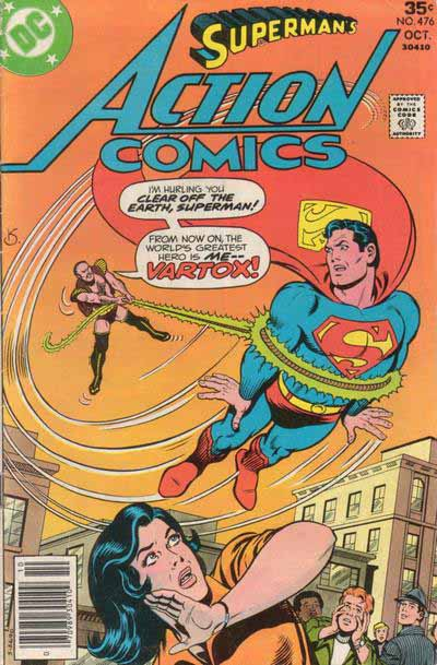 Action Comics 476 cover