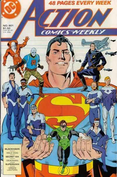 Action Comics Weekly 601 cover