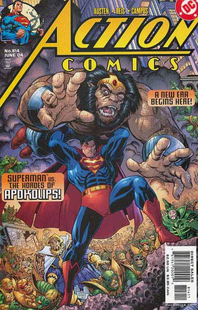 Action Comics 814 cover