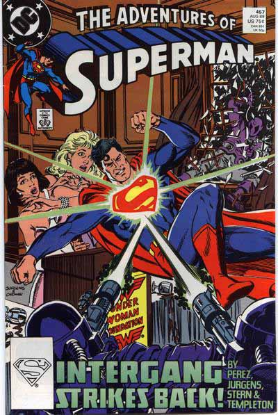 Adventures of Superman 457 cover