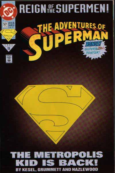 Adventures of Superman 501 cover
