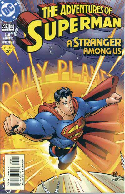 Adventures of Superman 592 cover