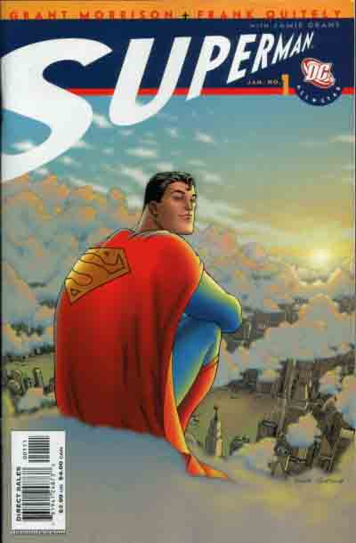 All Star Superman 1 cover