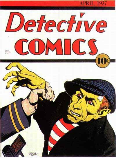Detective Comics 2 cover