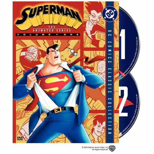 Superman Animated DVD