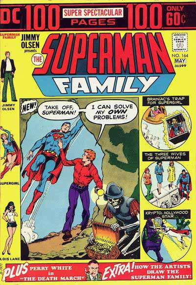 Superman Family 164 cover