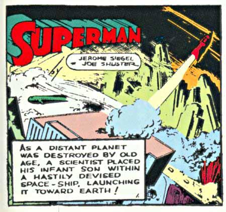 Superman panel 1