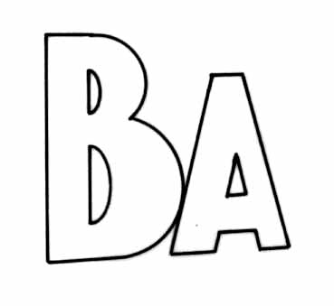 BA drawing
