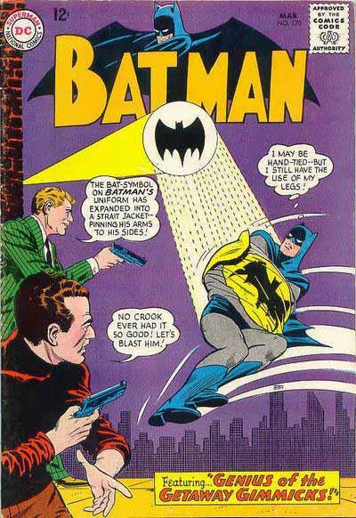 Batman 170 cover
