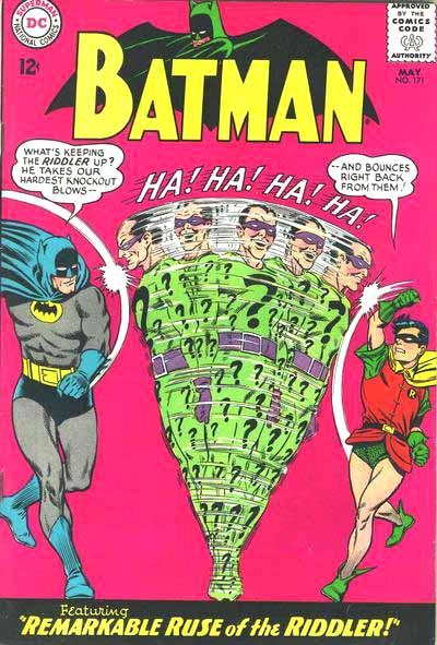Batman 171 cover