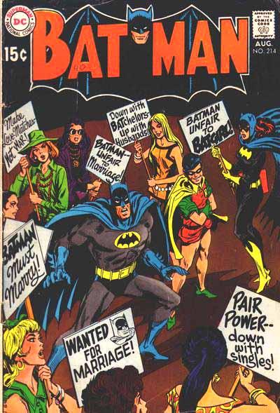 Batman 214 cover