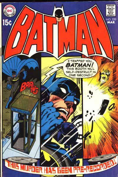 Batman 220 cover