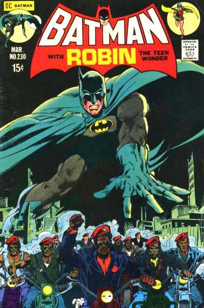 Batman 230 cover