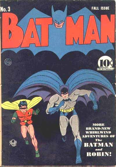 Batman 3 cover