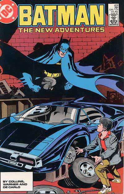 Batman 408 cover
