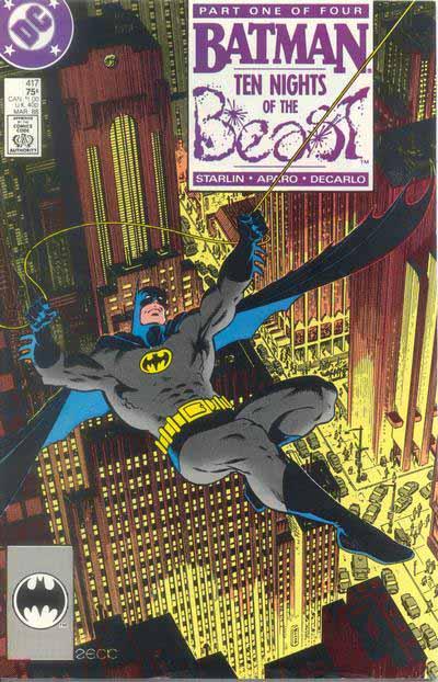 Batman 417 cover