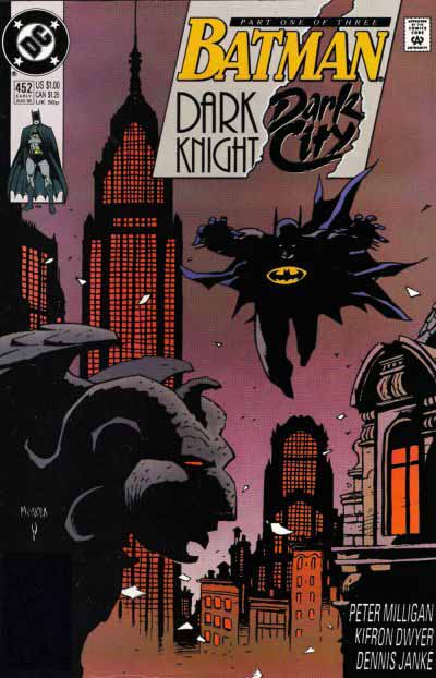 Batman 452 cover