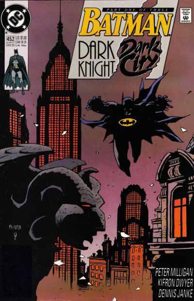 Batman 452 cover