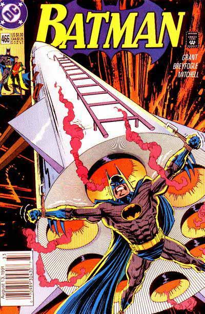Batman 466 cover
