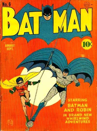 Batman 6 cover