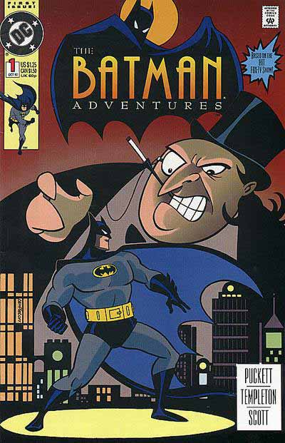 Batman Adventures 1 cover