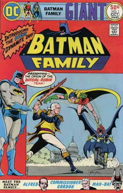 Batman Family 1 cover