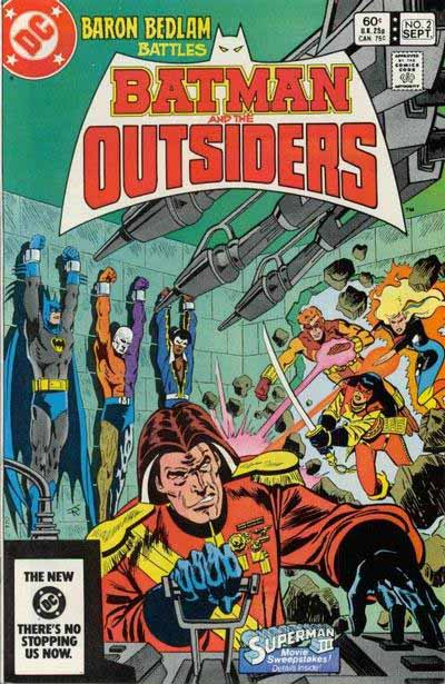 Batman and the Outsiders 2 cover