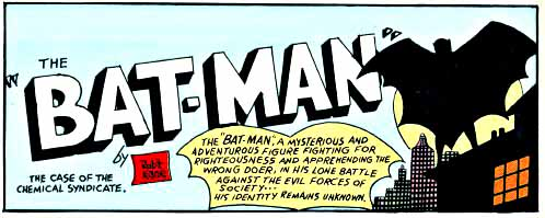 Detective Comics 27 inside page