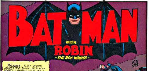 Detective Comics 54 inside page