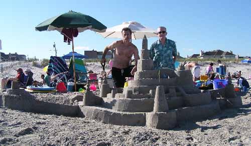 Doug, Todd, the castle