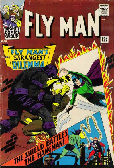 Fly Man 36 cover