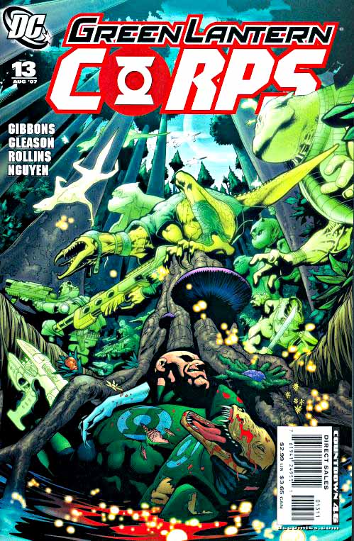 Green Lantern Corps 13 cover