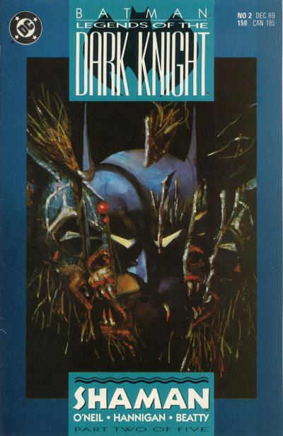 Legends of the Dark Knight 2 cover