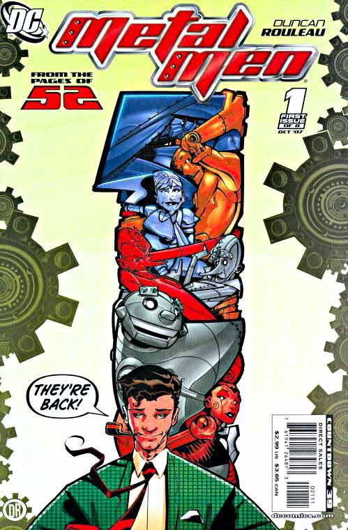Metal Men 1, 2007 cover