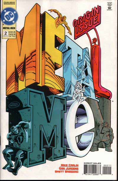 Metal Men mini 2 cover