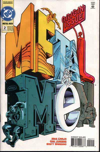 Metal Men mini 2 cover