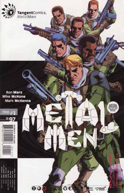 Metal Men Tangent cover