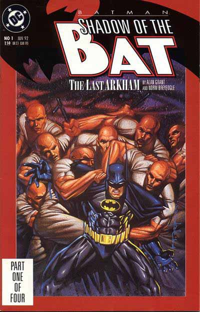 Shadow of the Bat 1 cover