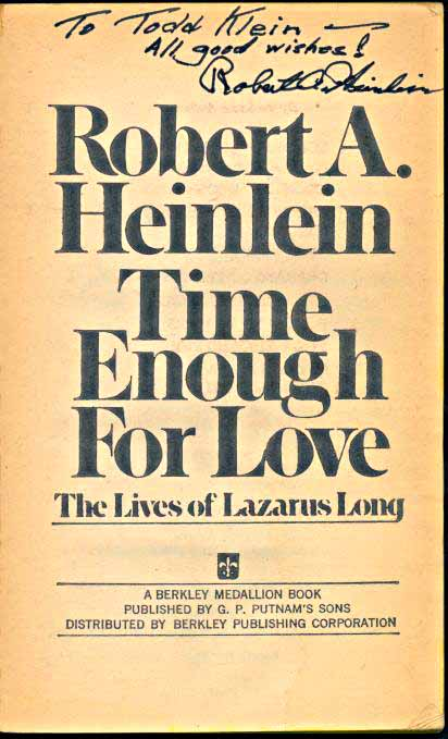 Time Enough For Love title page
